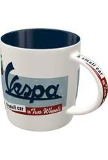 """ceramic mug with print """"vespa"""""""