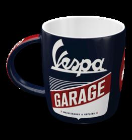 Nostalgic Art mug - vespa garage