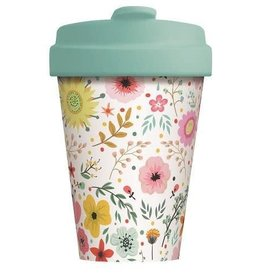 Chic Mic travel mug - prairie flowers