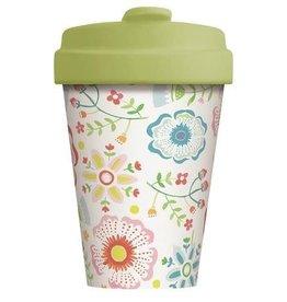 Chic Mic travel mug - skandinavian floral