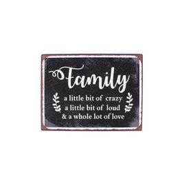 La Finesse sign - family a little bit of crazy …