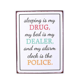 La Finesse sign - sleeping is my drug…