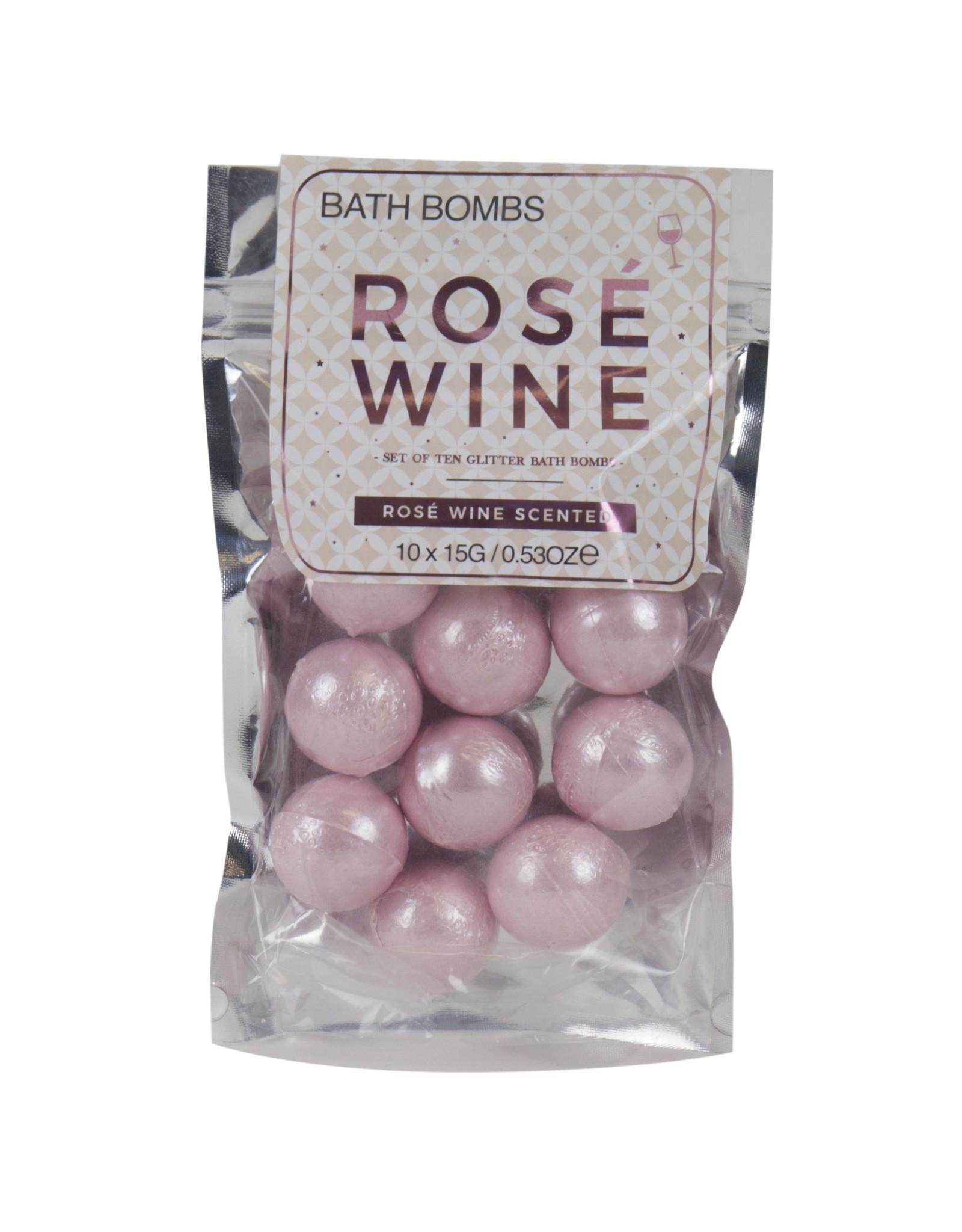 Gift Republic bath bombs - rosé wine