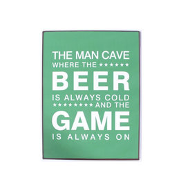 La Finesse sign - the man cave where the beer is …