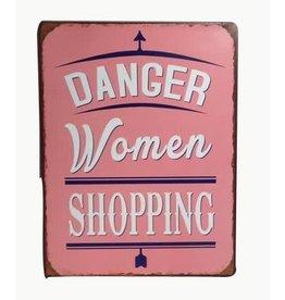 La Finesse sign - danger women shopping