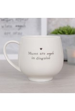 Jones Home & Gift mug - mums are angels in disguise