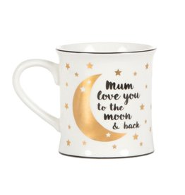 mug - mum i love you to the moon and back