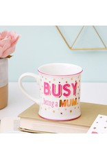 Sass & Belle mug - busy being a mum