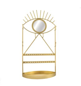 Sass & Belle jewelry stand - eye (gold) (4)