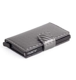 Figuretta card protector - carbon (dark grey)