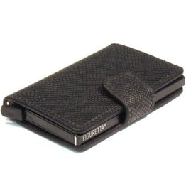 Figuretta card protector - carbon (snake/black)