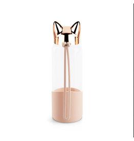 Balvi bottle - cat (rose gold)