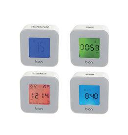 Balvi alarm clock - roller (white)