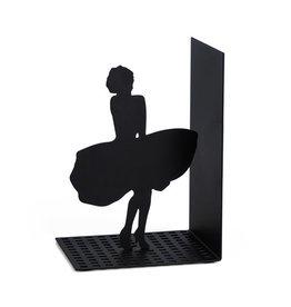 Balvi boekensteun - Marilyn Monroe (zwart)