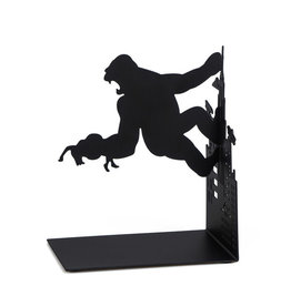 Balvi boekensteun - Kong (zwart)