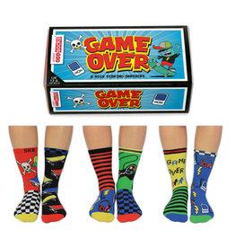 OddSocks sokken - game over (6 stuks)