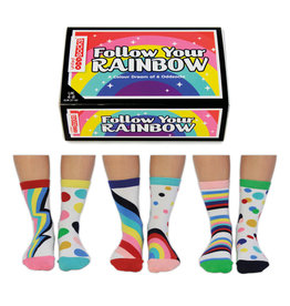 OddSocks socks - follow your rainbow