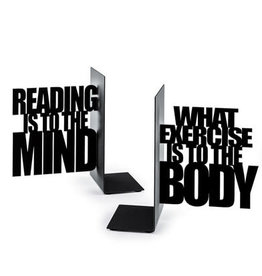 Balvi bookends - mind exercise (black)