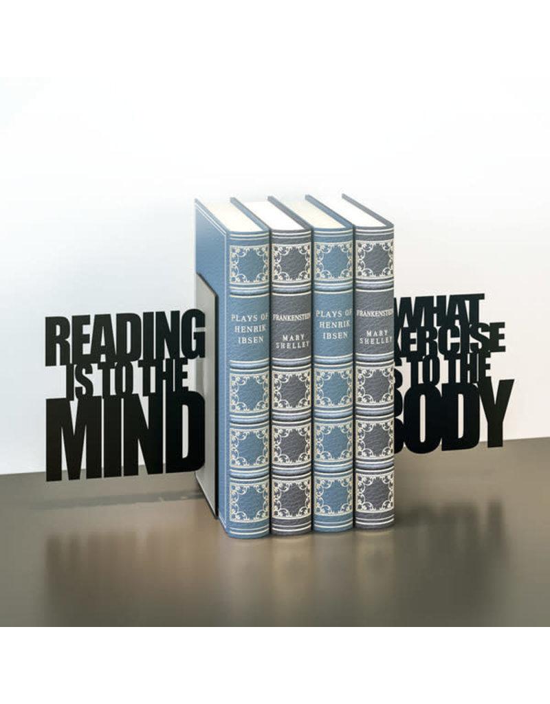 Balvi bookends - mind exercise (black)