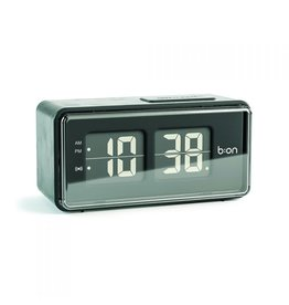 Balvi alarm clock - flip (digital/black)