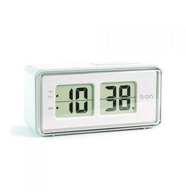 Balvi alarm clock - flip (digital/white)