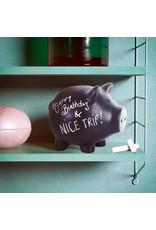 Balvi moneybox - pig (black)