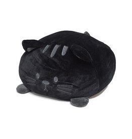 kussen - kitty (zwart)