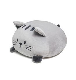 kussen - kitty (grijs)