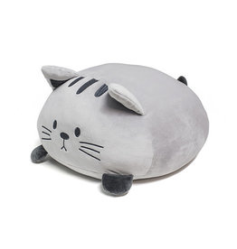 pillow - kitty (grey)