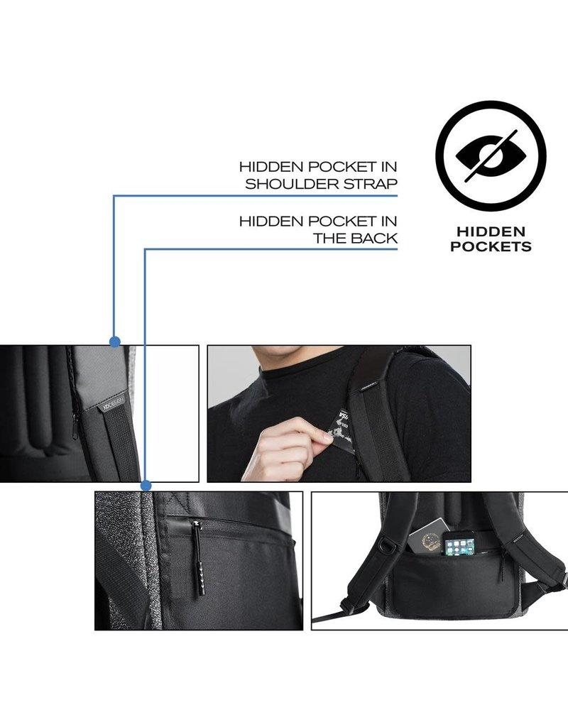 XD Design bobby anti-diefstal rugzak - urban (grijs)