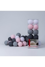 Cotton Balls cotton ball 20L - roze/grijs