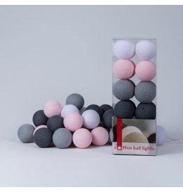 Cotton Balls cotton ball 20L - pink/grey