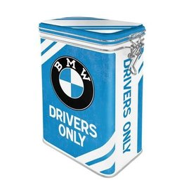 Nostalgic Art clip top box - BMW drivers only