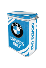 Nostalgic Art clip top box - BMW drivers only