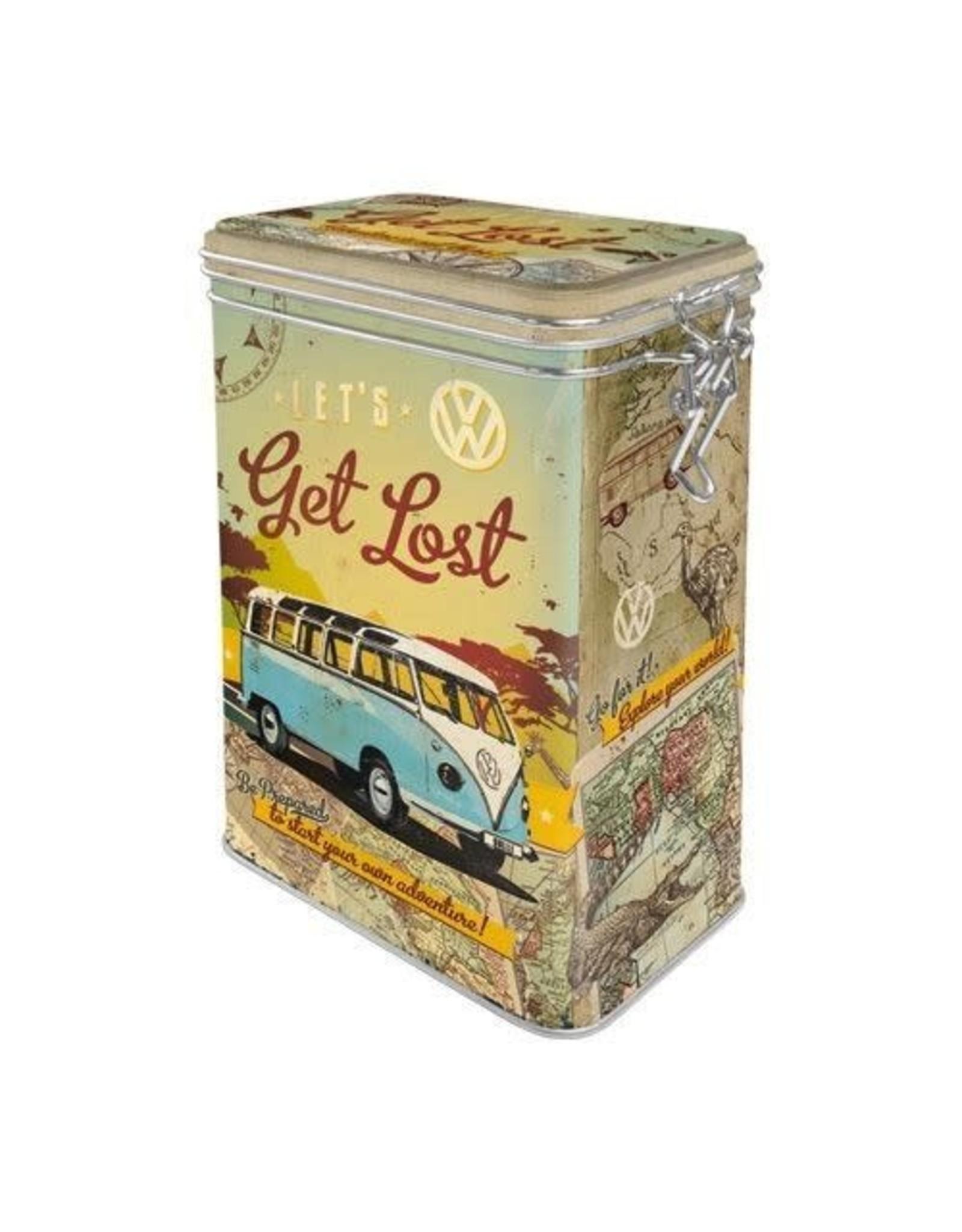 clip top box - let's get lost