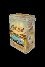Nostalgic Art clip top box - let's get lost