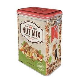 blikken doos met clip - nut mix