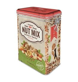 Nostalgic Art clip top box - nut mix