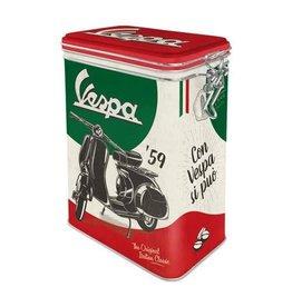 Nostalgic Art clip top box - vespa (4)