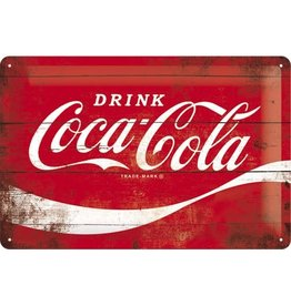 Nostalgic Art bord - Coca Cola (rood/medium)