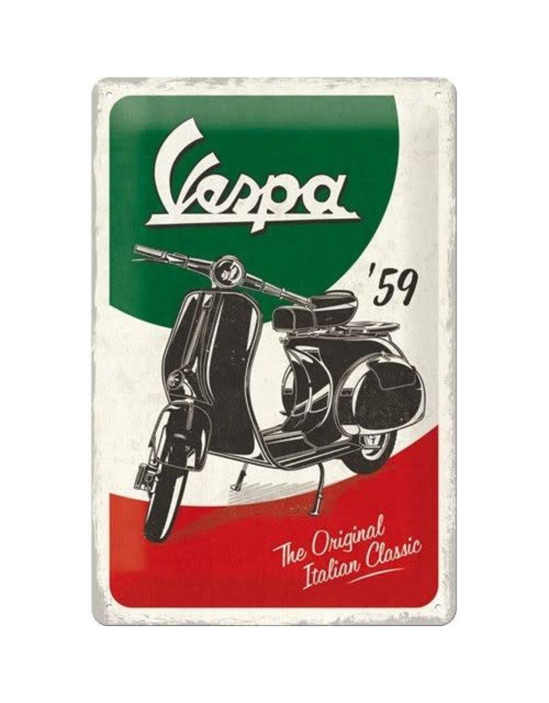 Nostalgic Art sign - vespa (medium)