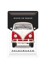 Nostalgic Art bord - Volkskwagen good in shape (medium)