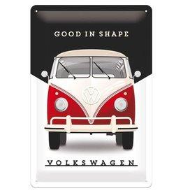 Nostalgic Art sign - Volkskwagen good in shape (medium)