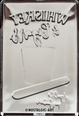 sign - whiskey & cigars (medium)