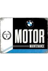 Nostalgic Art bord - BMW motor (large)