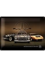 Nostalgic Art sign - Mercedes vintage (large)