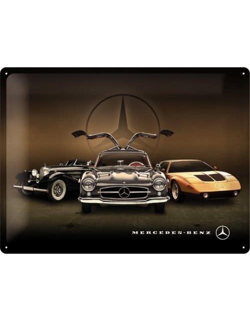 Nostalgic Art bord - Mercedes vintage (large)