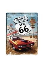 Nostalgic Art bord - Route 66 (large)