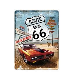 Nostalgic Art sign - Route 66 (large)