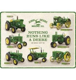Nostalgic Art bord - tractors (large)